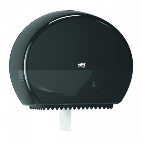 Tork диспенсер мини для т/бумаги на 2 рулона, черный 555008.