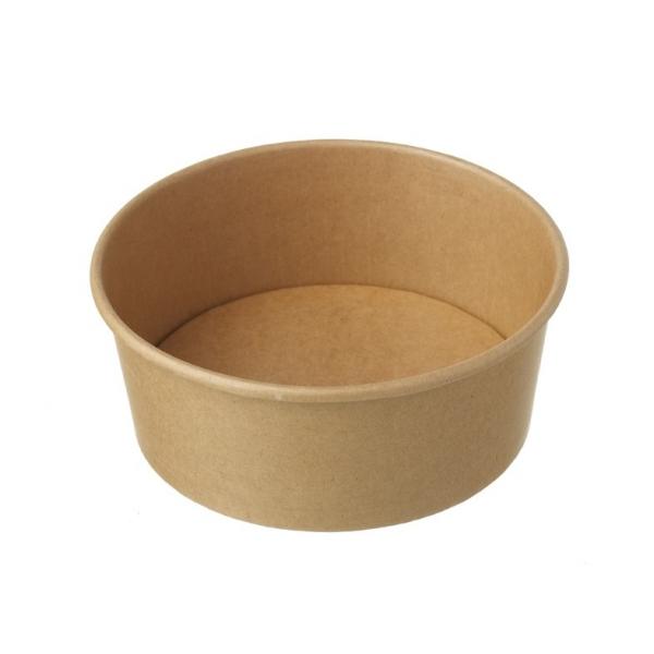 Салатник крафт 1,3 л (50 шт/уп)