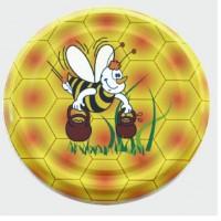 Крышка к баночке ТО 63 мм  мёд