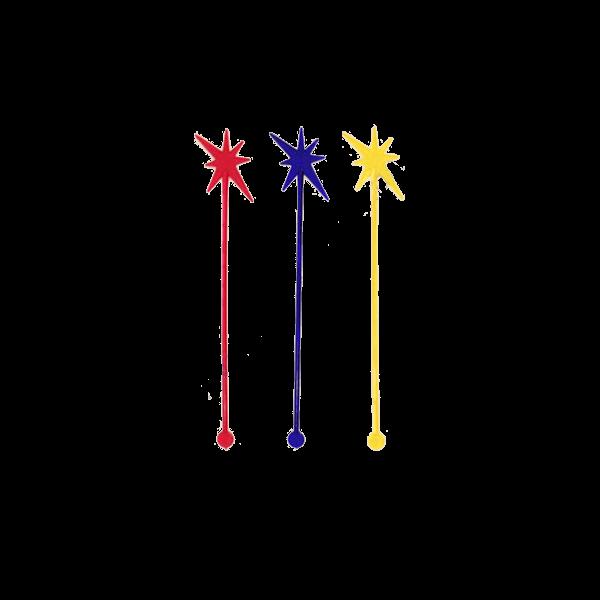 Мешалка цветная