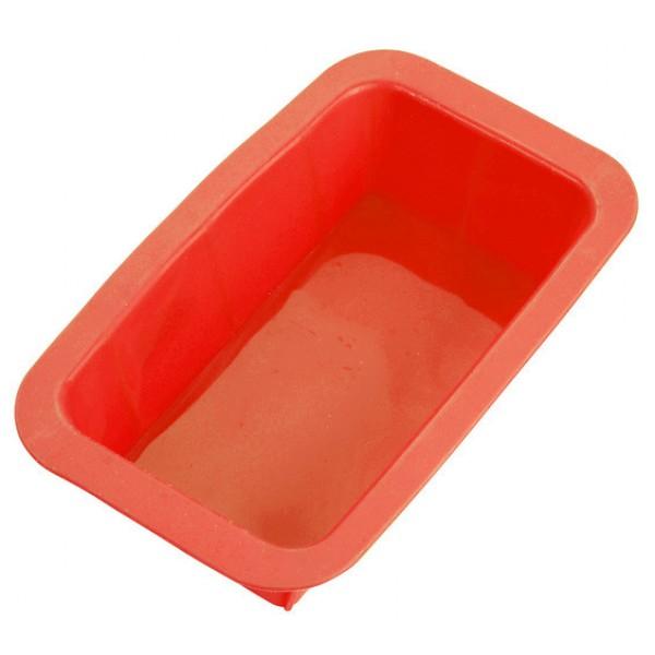 Силиконовая форма для кекса, красная