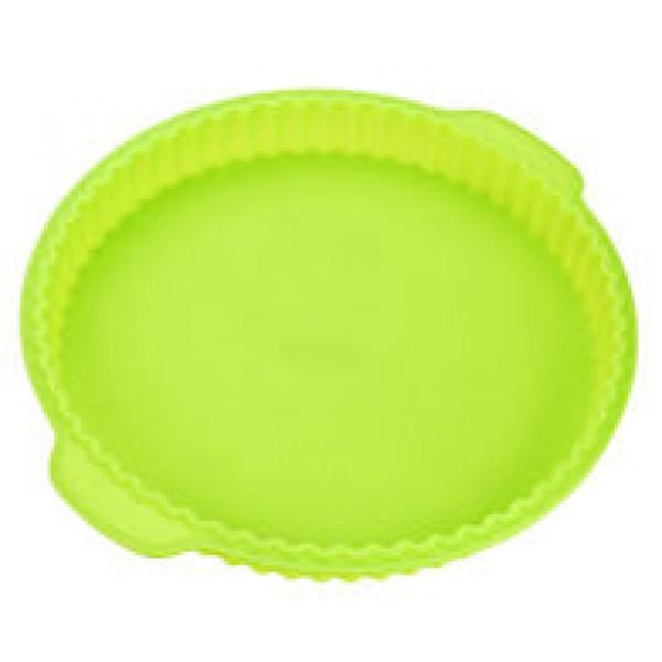 Силиконовая форма для пирога 31 см, салатовая