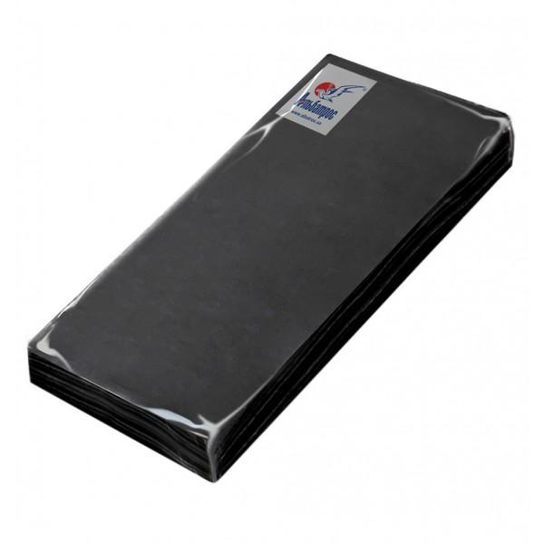 Салфетка HoReCa 330х340 черная 1/8 сложения (50 шт/уп)