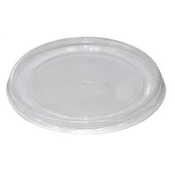 Крышка для супницы 750/950 мл (115 мм) пластик (50 шт/уп)