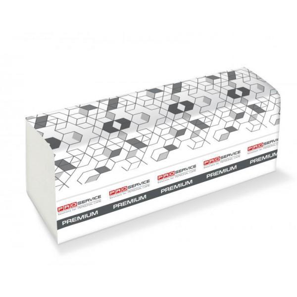 PROservice Premium Бумажное полотенце Z-скл. Двухслойное 200 шт. Белые.