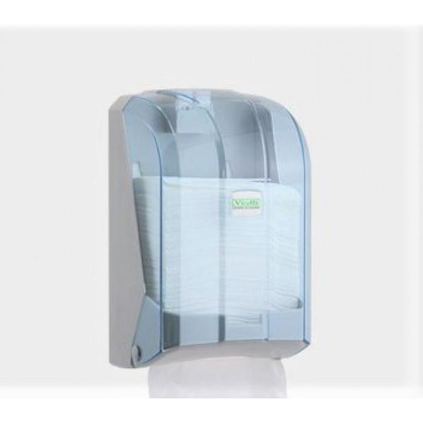 Держатель листовой туалетной бумаги Vialli прозрачный