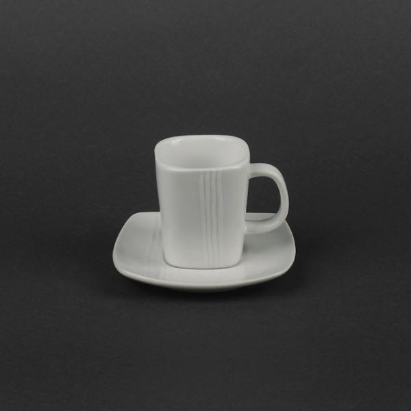 Кофейный набор на 2 предмета - чашка 100 мл с блюдцем