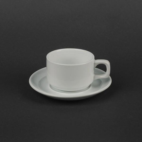 Чайный набор керамика: чашка 150 мл с блюдцем