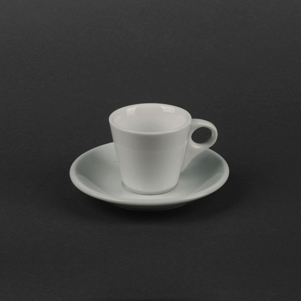 Чайный набор керамика: чашка 180 мл с блюдцем