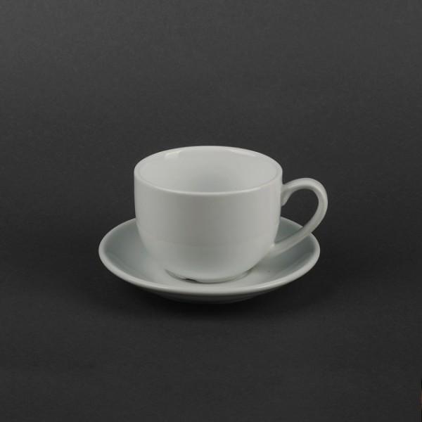 Чайная пара: чашка керамика 250 мл + блюдце