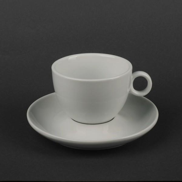 Чайный набор керамика: чашка 280 мл + блюдце