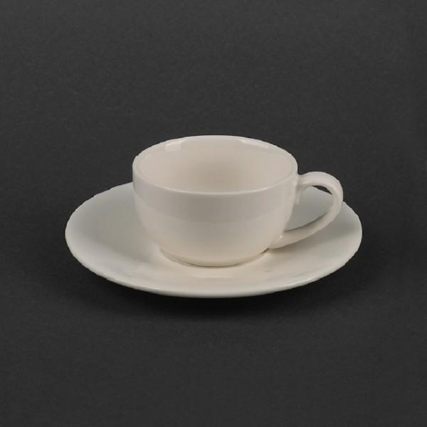 Классический чайный набор: чашка 220 мл с блюдцем