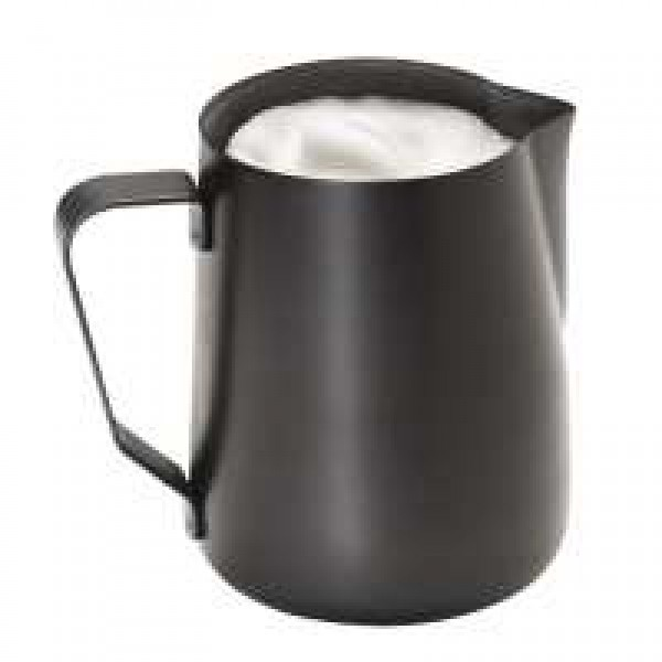 Молочник/питчер 350 мл с антипригарным покрытием, черный
