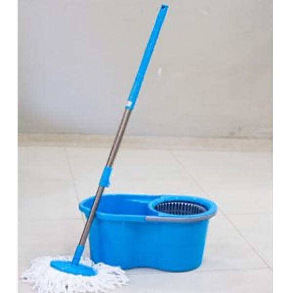 Набор для уборки (Ведро с отжимом и швабра) 480*265*260 мм