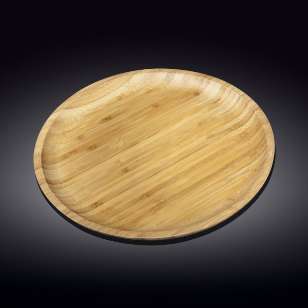 Блюдо круглое бамбук Wilmax 35,5 см