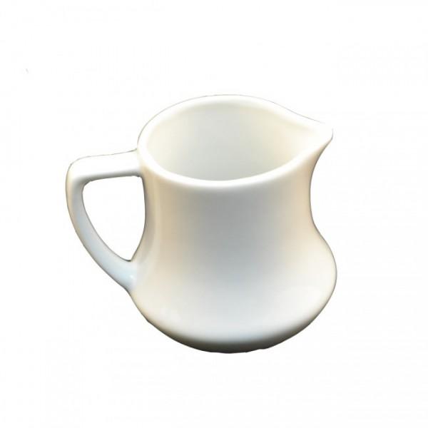 Молочник белый с ручкой 100 мл