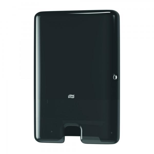 Tork диспенсер для листовых полотенец Maxi, Multifold. Черный