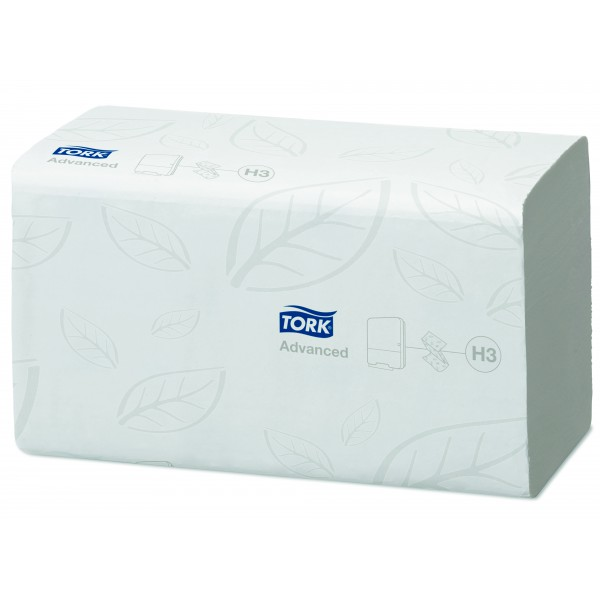Tork листовые полотенца 250 шт., 2 слоя, Singlefold, Advanced