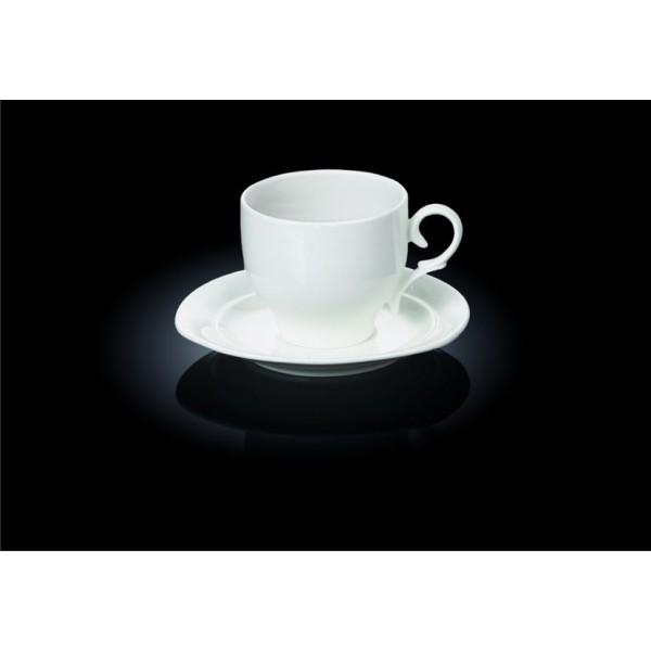 Чайный набор Wilmax - чашка 220 мл с блюдцем