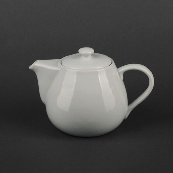 Чайник керамический белый 500 мл