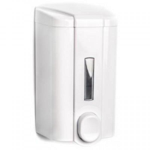 Дозатор для жидкого мыла белый 0,5 л