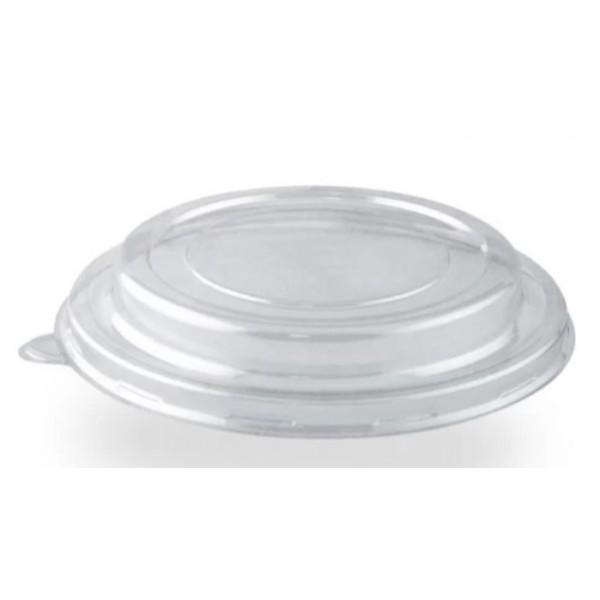 Крышка полукупольная для салатника, прозрачная Ø=187мм, h=20мм (25шт/уп)