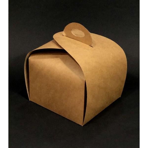 Крафтовая коробка 110х110х110 мм (100 шт/уп)