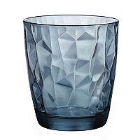 Стакан низкий, синий Diamond Aqua, 300 мл