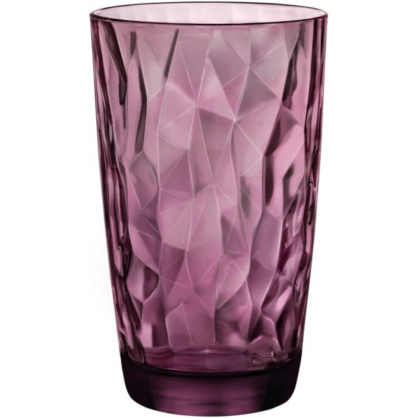 Стакан Diamond Cooler Purple высокий, 470 мл