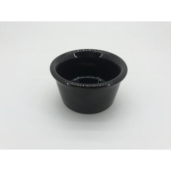 Соусник керамический черный 50 мл