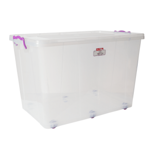 Контейнер для хранения пищевых продуктов на колесах 60 л