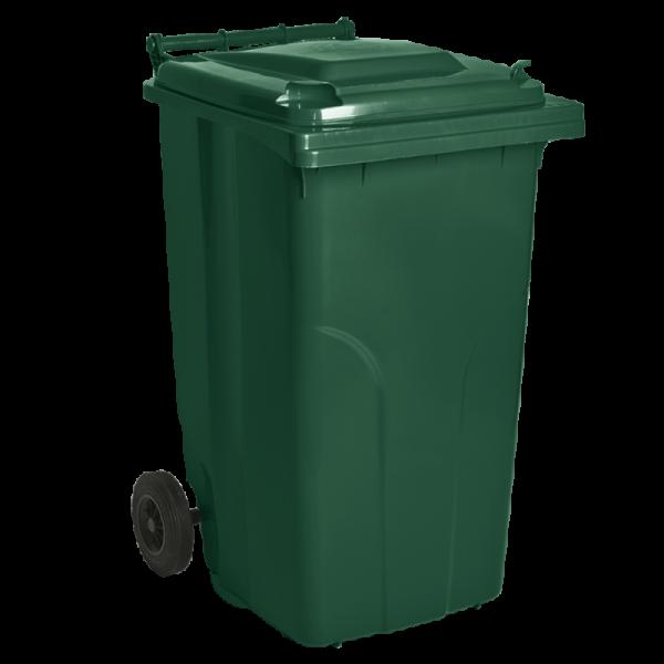 Бак для мусора на колесах 240 л