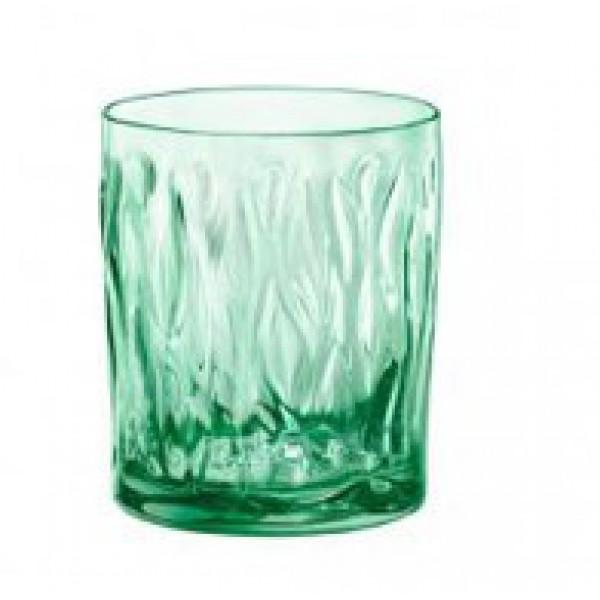 Стакан для воды зеленый WIND 300 мл/BORMIOLI ROCCO