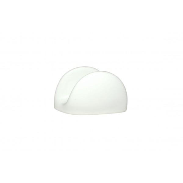 Салфетница белая, керамическая