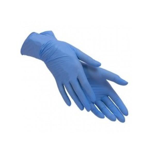 Перчатки нитриловые Optium PRO синие, размер L (100 шт/уп)