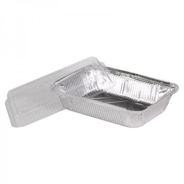 Крышка пластик выпуклая к алюм. контейнеру SP98L (50 шт/уп)
