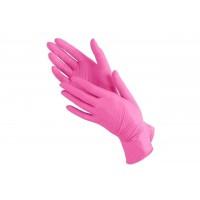 Перчатки нитриловые Nitromax розовые, размер М (20 шт/уп)