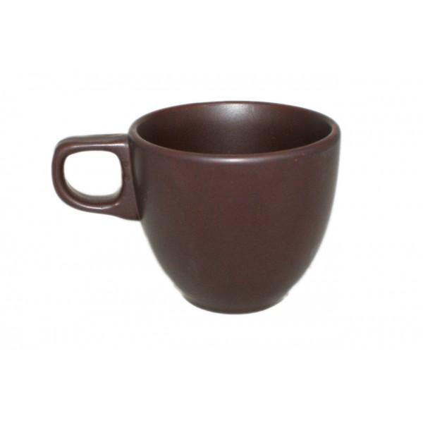 Чашка керамическая терракотовая, 200 мл