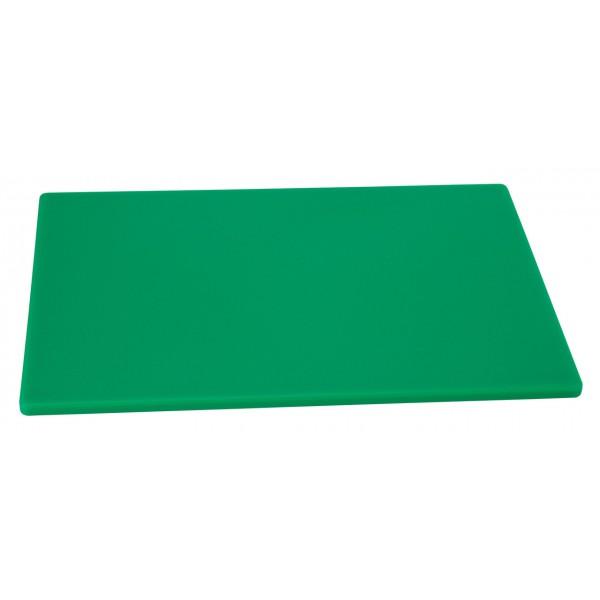 Профессиональная разделочная доска зеленая 60х40х2 см